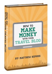 How to make money with your travel blog