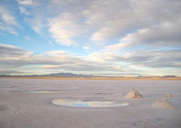 uyuni reflecting pool Awash In Salt: Photos From Salar de Uyuni in Bolivia