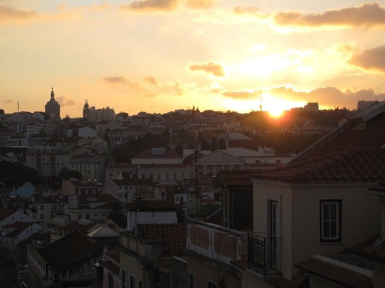 bairro alto sunset Where to Wander in Lisbon