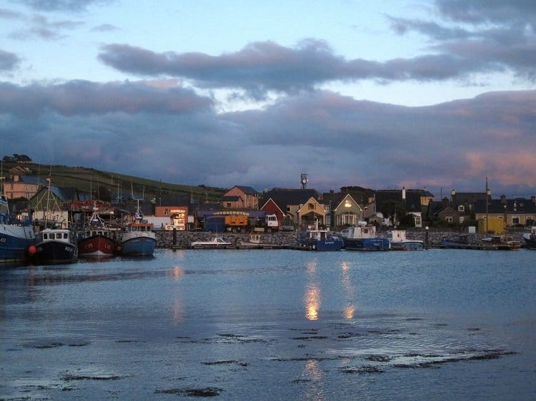 Dingle harbour evening