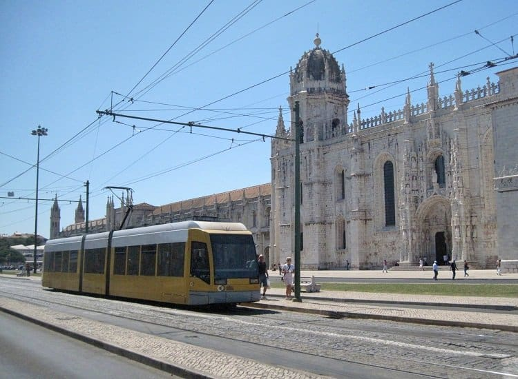 modern tram lisbon Where to Wander in Lisbon