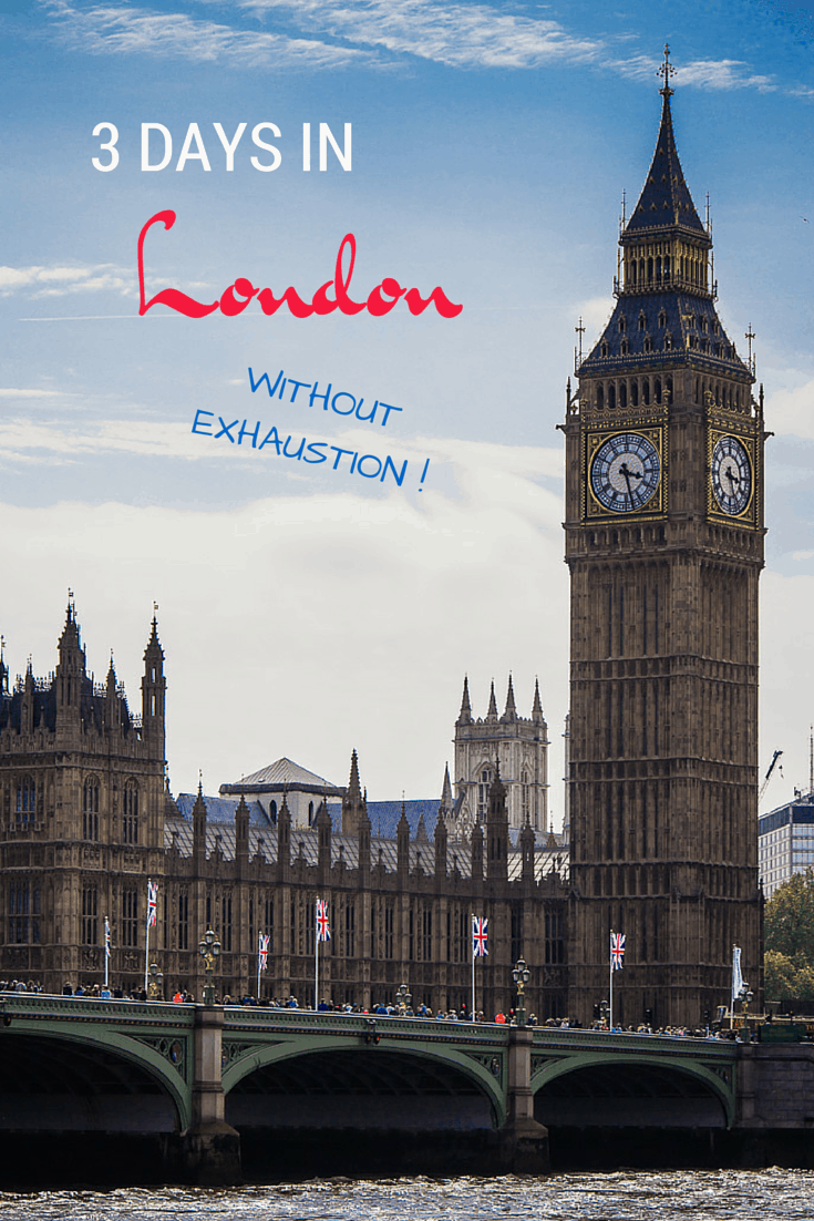 Three Days In London Without Exhaustion