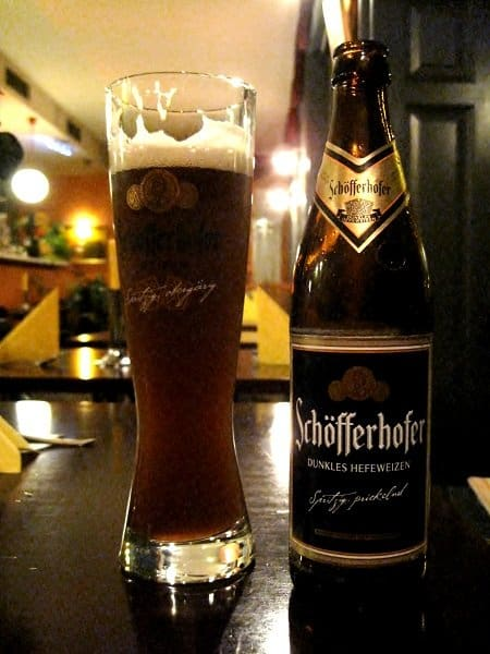 schofferhofer Bier and Fun Times in Deutschland