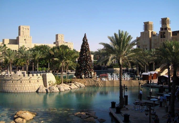 christmas tree Dubai