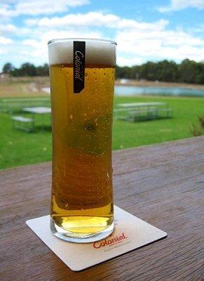 Refreshing Kolsch at Colonial Brewing Company