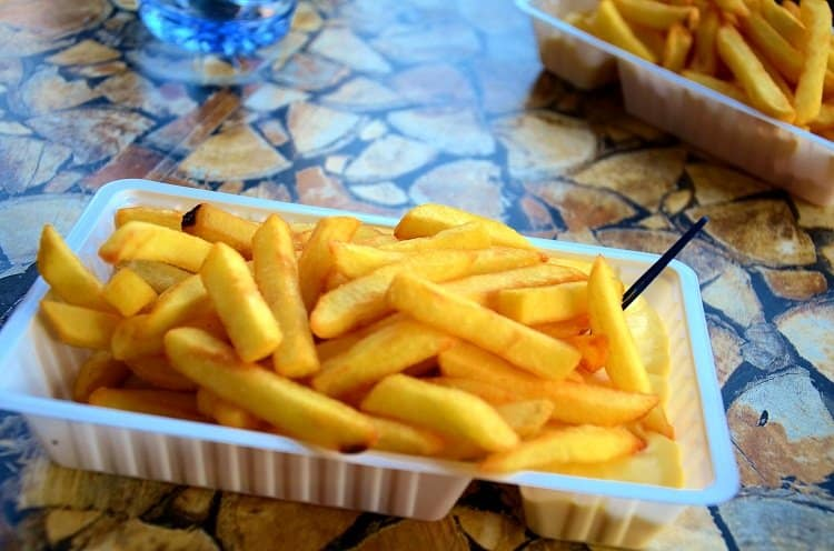 frites with mayo amsterdam