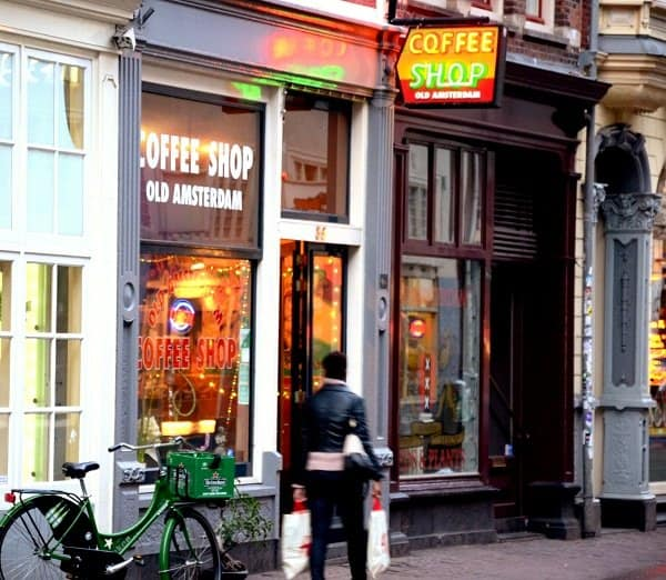 old amsterdam coffee shop
