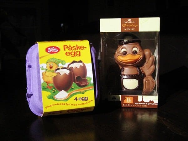 Norway easter chocolates paske