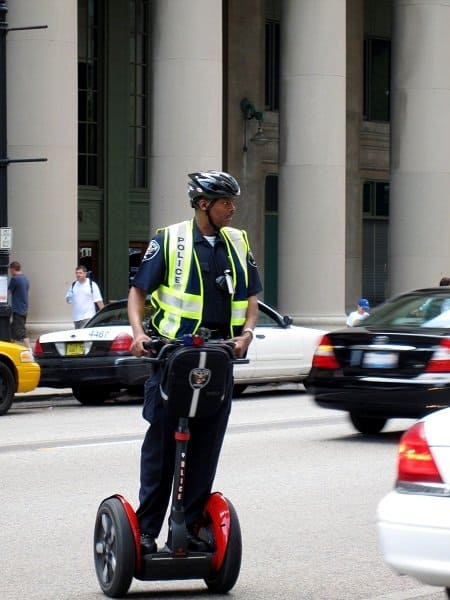 segway cop chicago Travel Memories: USA Part 1   My Two Cities