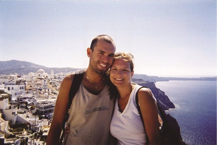 anj 1 Travel Memories: Crete and Santorini (or, the story of how we met)