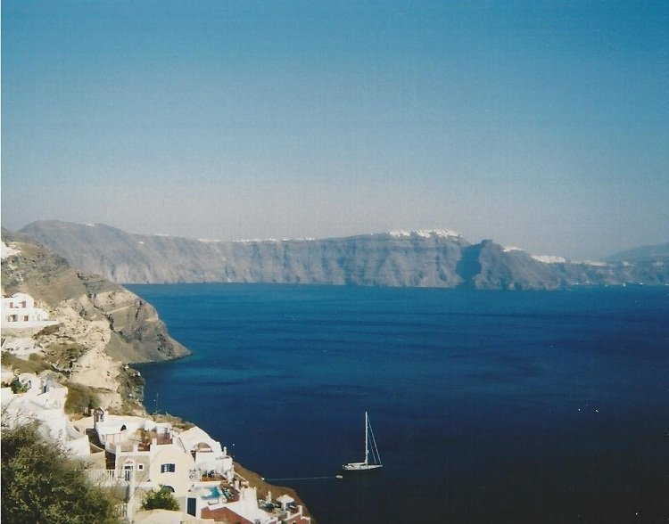 greek islands Travel Memories: Crete and Santorini (or, the story of how we met)