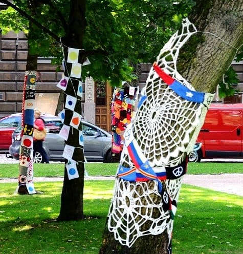knit trees helsinki2 Outdoors In Helsinkis Parks and Markets