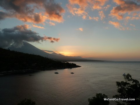 Amed2 sunset Top Four Snorkel Sites In Northern Bali