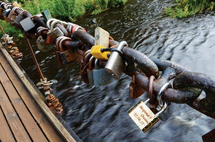 love lock bridge estonia A Day Trip To the Pakri Peninsula And Paldiski From Tallinn