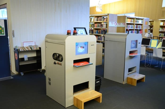 turku library checkout mach Exploring the Turku City Library