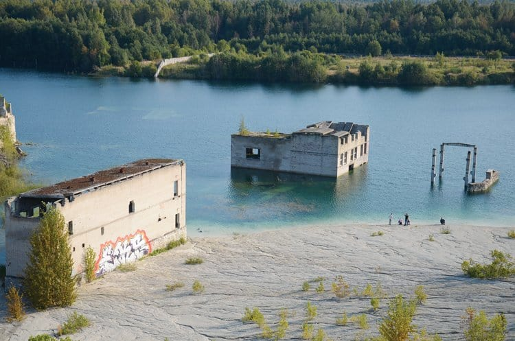 Murru prison quarry & lake
