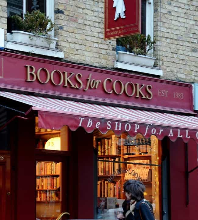 books for cooks Londons Unusual Bars and Restaurants