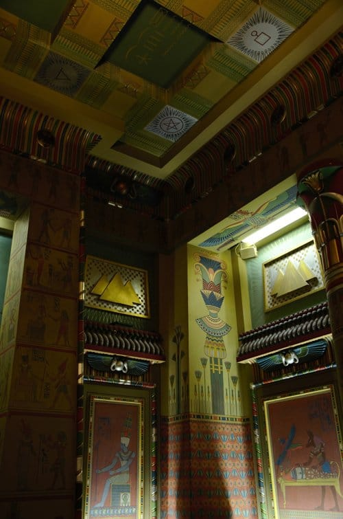 egyptian room masonic templ A Day Visit To Philadelphia