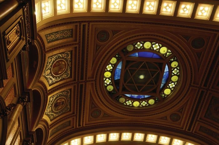 masonic temple ceiling A Day Visit To Philadelphia