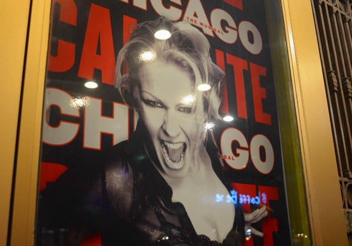 chicago poster nyc An Evening On Broadway: Seeing Chicago In New York City
