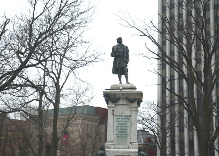 Remember when Sil took action over the Columbus Day protests?