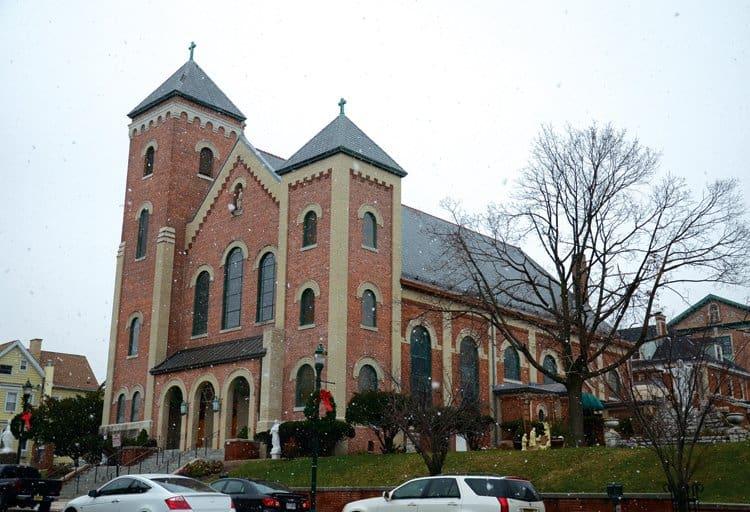 St Cecilia's church sopranos father phil