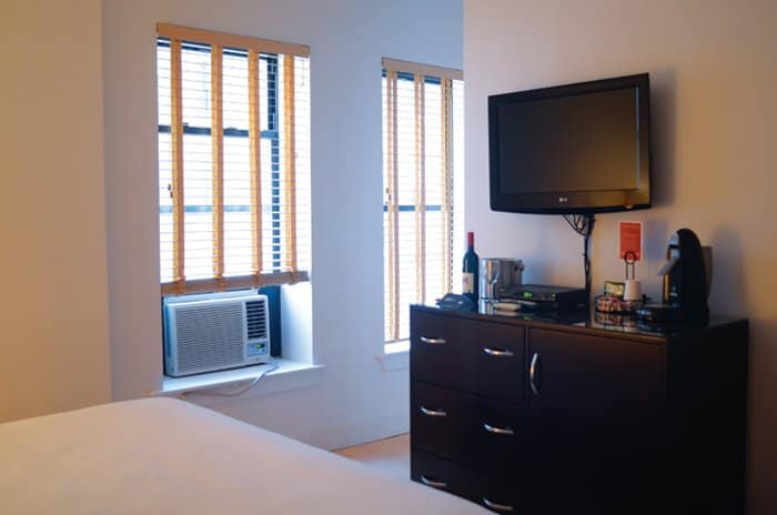 mave nyc hotel room Smart And Affordable: The MAve Boutique Hotel, New York City