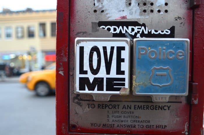 police call box nyc