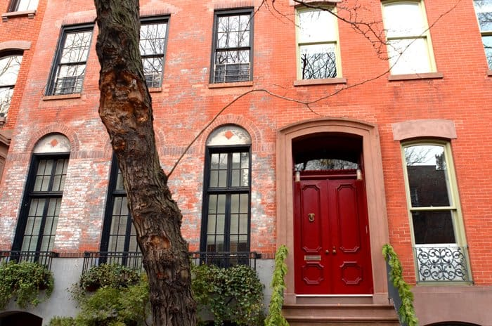 west village ny red door