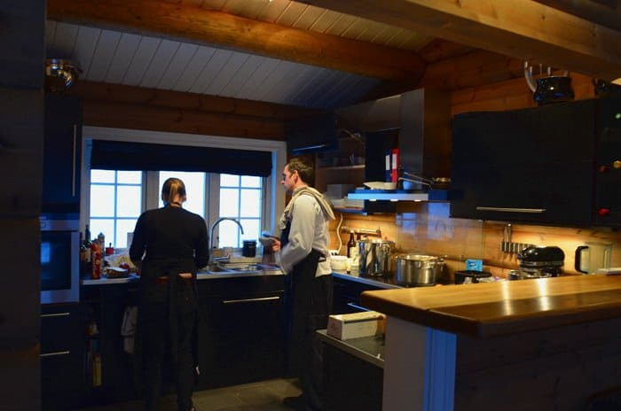 lyngen lodge kitchen Arctic Gem: Lyngen Lodge, Norway