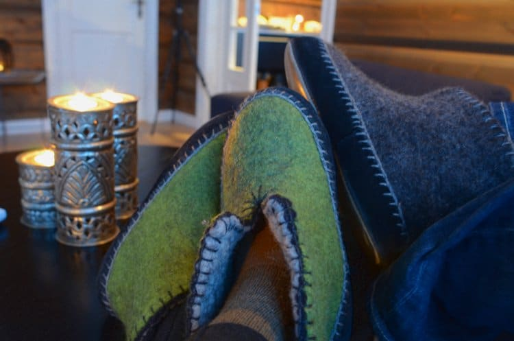 lyngen lodge slippers Arctic Gem: Lyngen Lodge, Norway