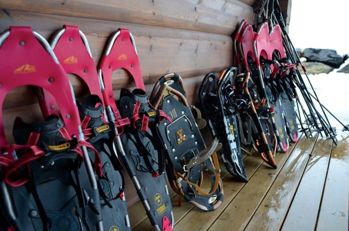 lyngen snowshoes Arctic Gem: Lyngen Lodge, Norway