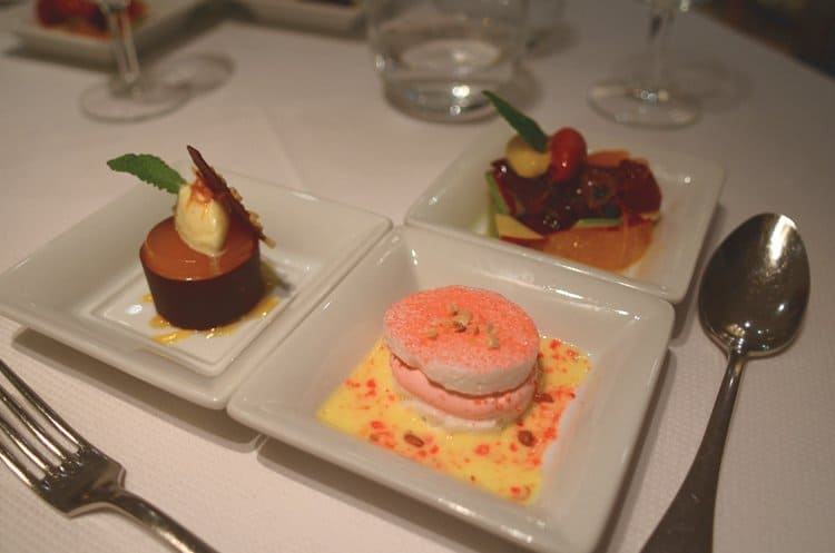 Three more desserts at Le Gourmet de Seze