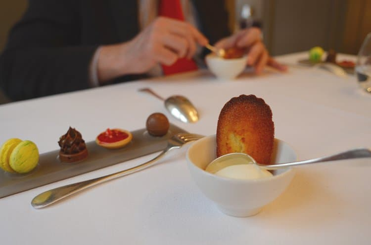 The best madeleine I've ever had at Mere Brazier