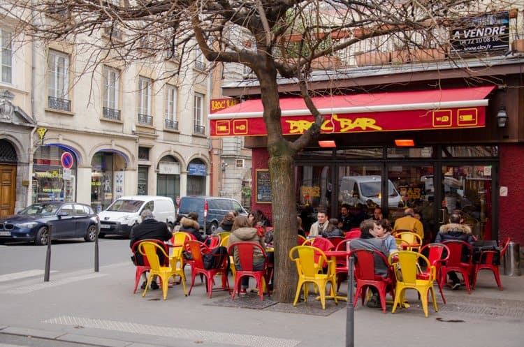 cafe in Lyon