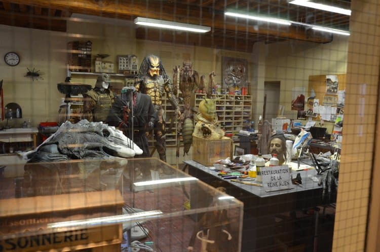 workroom miniature musee Movie and Miniature Magic In Lyon