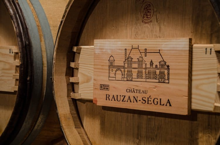 Château Rauzan-Segla  barrel
