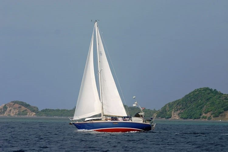 Our sailing vessel