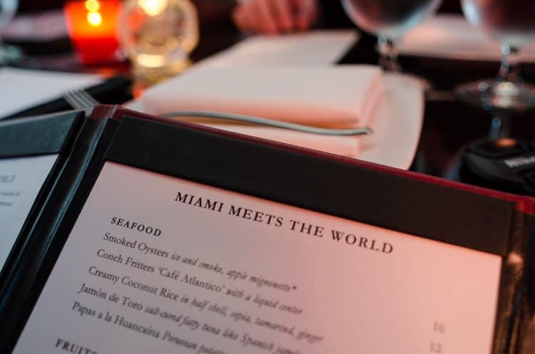 the bazaar miami menu