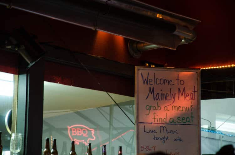 mainely meat BBQ bar harbor