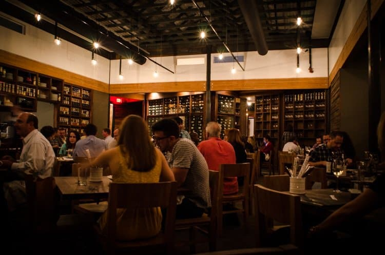 underbelly houston dining room