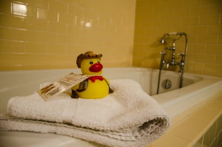 hotel icon rubber ducky