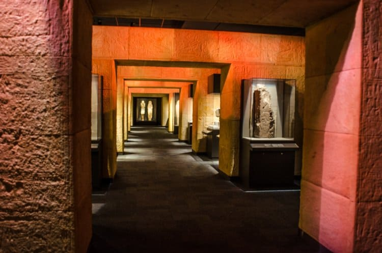 hall of ancient egypt hmns