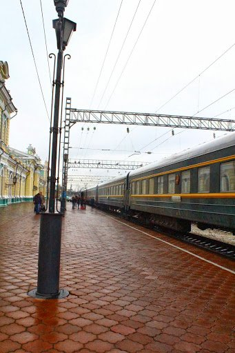 The Trans Siberian stop at Irkutsk Russia Six Great Reasons To Travel On The Trans Siberian Railway