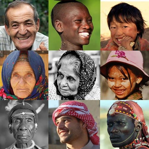 faces from the world  How Languages Can Transform Your Travel Experiences…and Your Life