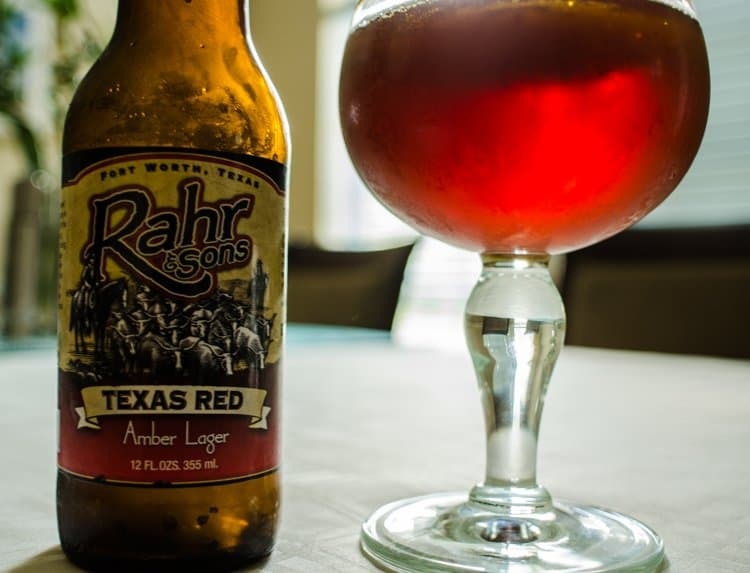 rahr & sons texas red beer