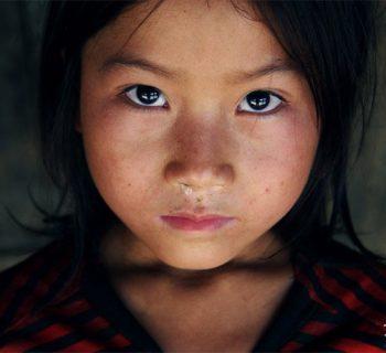 face of human trafficking
