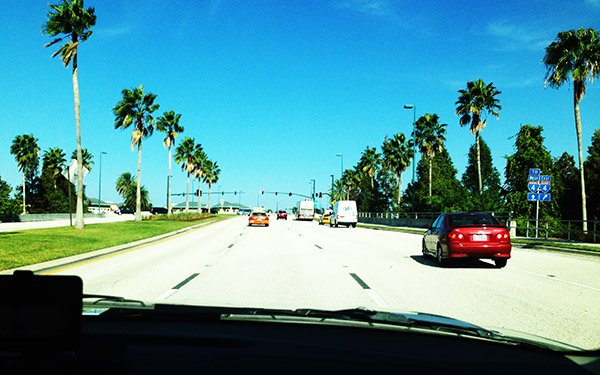 Keeping the distance in Orlando highways