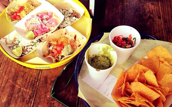 Rusty Tacos (TX chain) wins ALL the points when it comes to fresh, delicious and affordable lunch