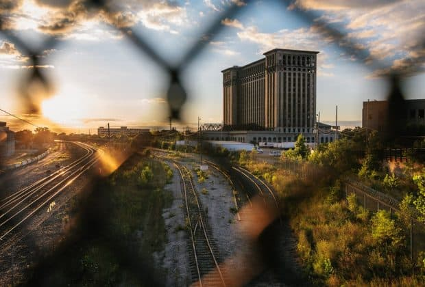 Michigan Central Stationg - Downtown Detroit (Photo credit: Geoff Llerena